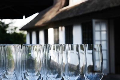 Opstilling af glas ved Aulbjerghus
